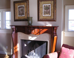 what is the proper height for a fireplace mantle