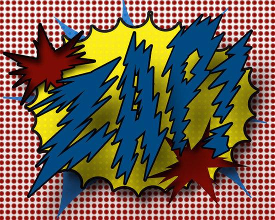 11x14 Print of Comic Book Sound Zap! -