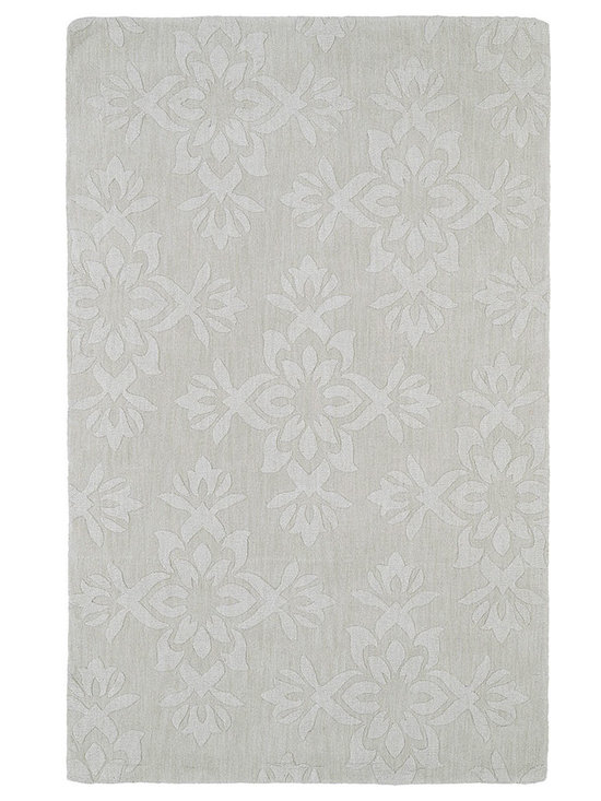 Kaleen - Imprints Classic Ipc04 Ivory Rug - Imprints Classic, where textiles meet fashion. Modern textile designs and todays hottest colors combine to meet the new evolution of this beautiful collection. Straight off the runway and into your home each rug is handmade in India of 100% Virgin Wool.