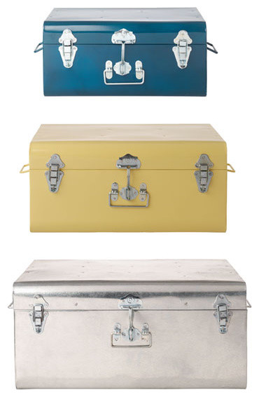 Tin Trunk - Eclectic - Decorative Trunks - by TOAST