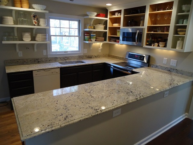 Granite countertops Kitchen design with granite countertops