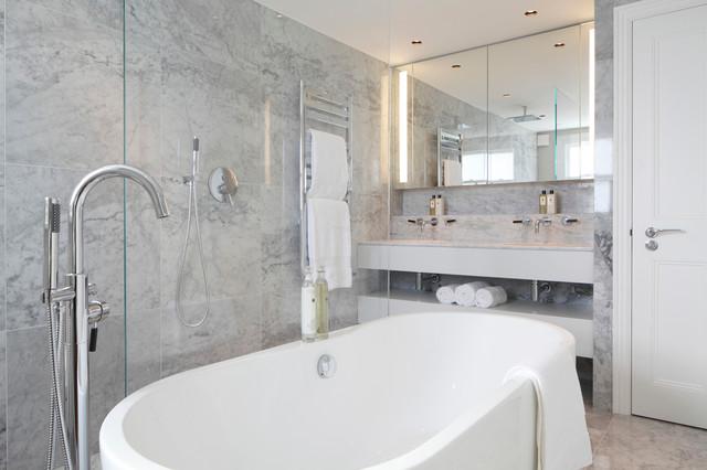 St Albans Ave contemporary-bathroom