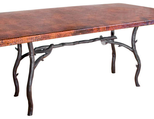 South Fork Rectangle Dining Table Base Only Rustic table