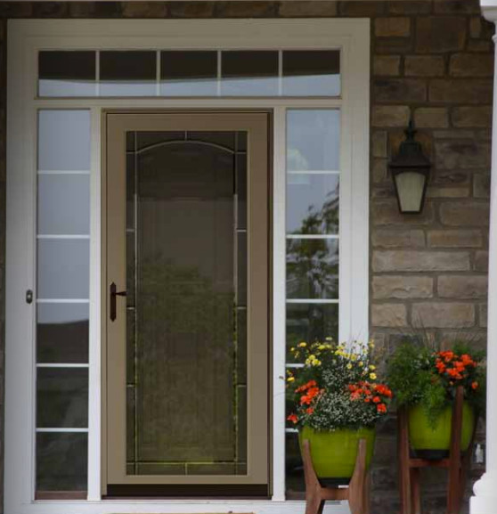 Andersen storm door thermatru front entry door replacement for Front door with storm door