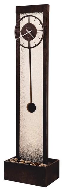 Cascade Floor Clock By Ty Pennington Modern Clocks