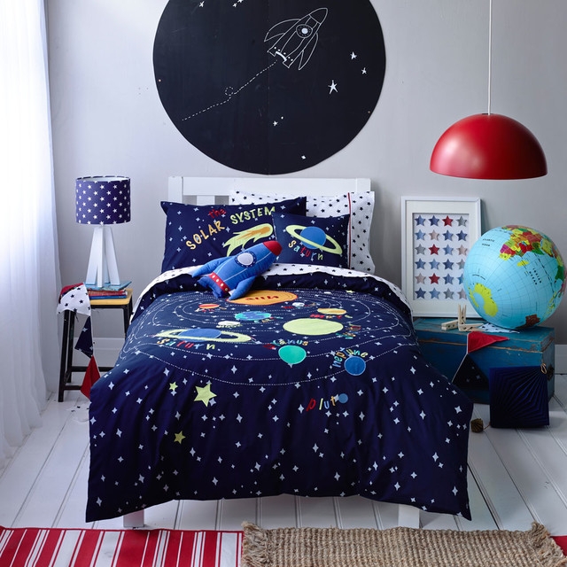 toddler bedding solar system -#main