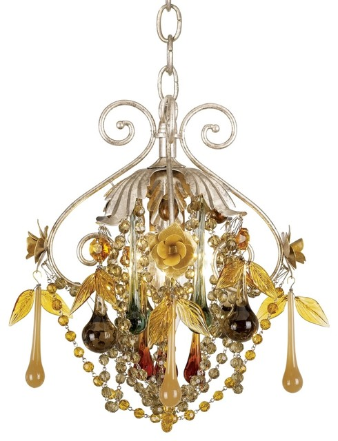 Crystal Autumn Mist Crystal Pendant Chandelier traditional chandeliers