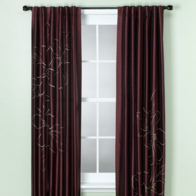 Capri Window Panel Contemporary Curtains By Bed Bath Beyond