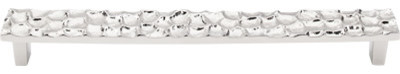 """Cobblestone Pull 8 13/16"""" (c-c) - Polished Nickel modern-cabinet-and-drawer-handle-pulls"""