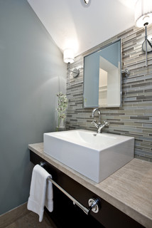 Vanity Master Bath Contemporary Bathroom Salt Lake
