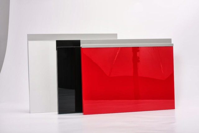 High Gloss Doors - Contemporary - Kitchen Cabinetry - new york - by ...