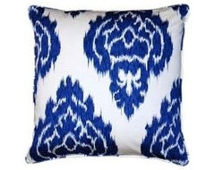 Moroccan Palace Blue 20 Inch Decorative Pillow Josey Miller... - Polyvore