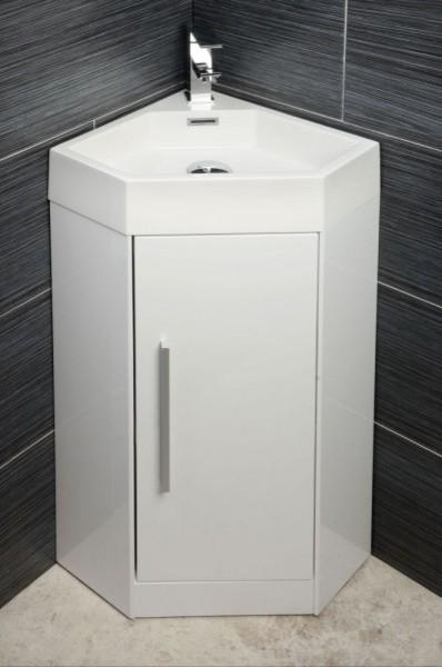 Solomia Corner Vanity Unit - Contemporary - Bathroom Vanities And Sink Consoles - london - by ...