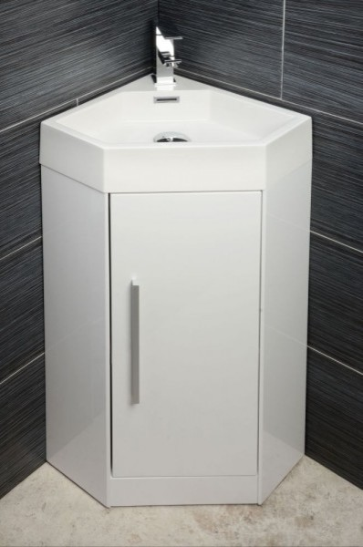solomia corner vanity unit contemporary bathroom