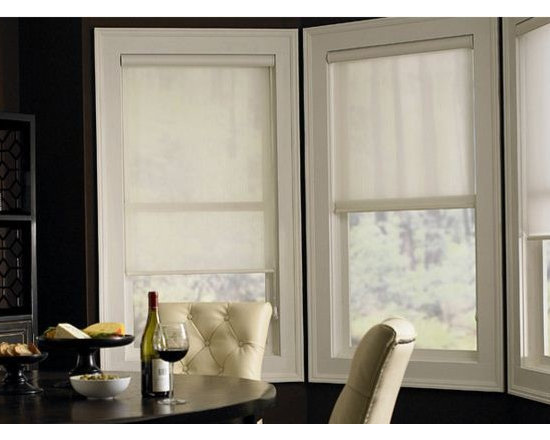 Roller Shades- Dining Room Inspiration - Roller Shades are sleek and sophisticated window treatments that are complimentary to any decor. 3 Day Blinds Roller Shades are known for their privacy capabilities, light control functions, and optional motorization operation.