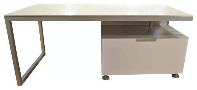 ligne roset everywhere desk w filing cabinet drawer modern desks and hutches other. Black Bedroom Furniture Sets. Home Design Ideas