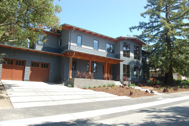 Modern Craftsman Home contemporary exterior