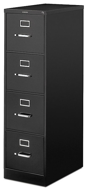 """Hon 510 4-Drawer Letter File, 52""""x15""""x25"""" - Contemporary ..."""