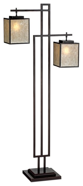 Arts and Crafts - Mission Kathy Ireland Beacon Heights Floor Lamp modern-floor-lamps