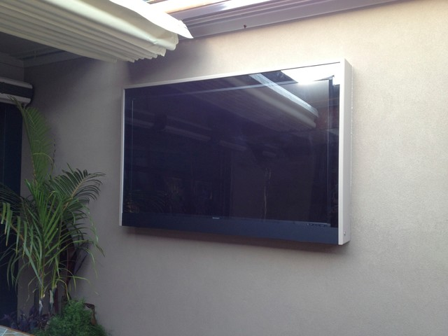 Custom Built Outdoor TV Enclosures - Beach Style - Outdoor Decor - atlanta - by Advanced ...