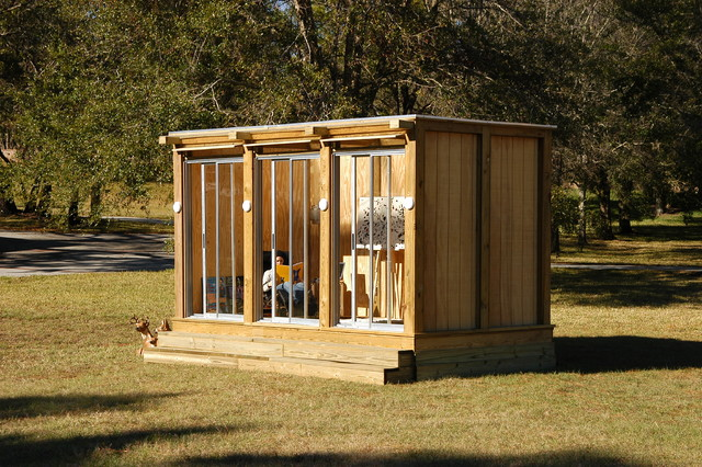 Metroshed modern garden shed for Contemporary garden buildings