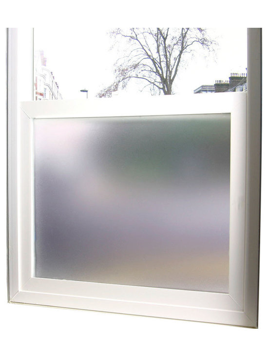 Odhams Press - Simply Private Frosted Privacy Film, Large 48 in. X 84 in. - The perfect way to add a little privacy to any space without giving up the beauty and warmth that natural lighting brings.