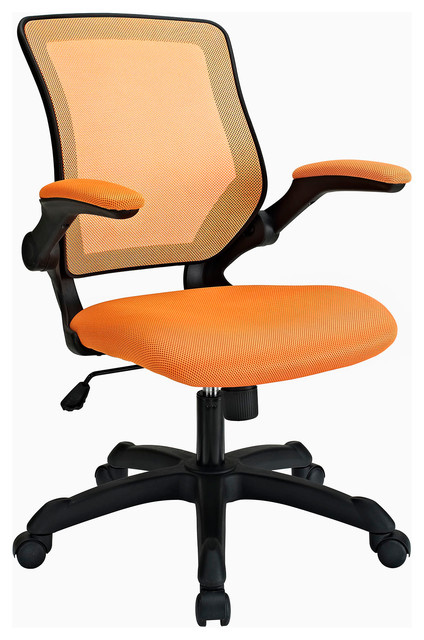Veer fice Chair in Orange Contemporary fice Chairs