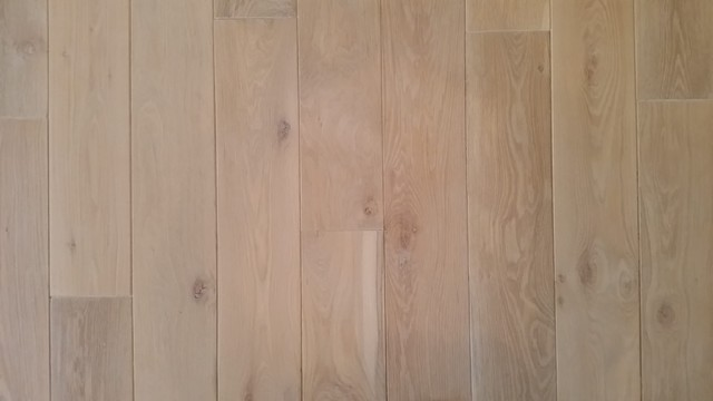Limed And Pickled 8 Solid White Oak Mediterranean