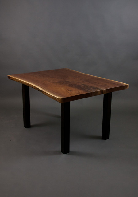 Stern Family - Black Walnut Kitchen Table modern-dining-tables