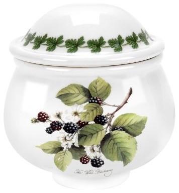 Portmeirion Pomona Classics Romantic Covered Sugar Bowl modern-serving-and-salad-bowls