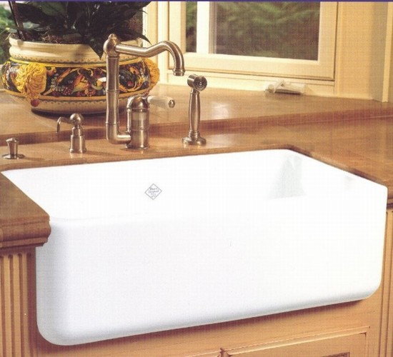 Rohl Shaws Sinks RC3018 midcentury-kitchen-sinks
