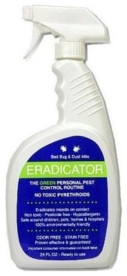 Bed Bug Eradicator Bed Bug Spray With Natural Enzyme - 24 Oz contemporary-household-cleaning-products