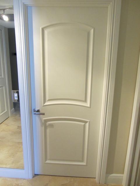 Boca Raton Beach Penthouse Complete Remodel transitional-interior-doors