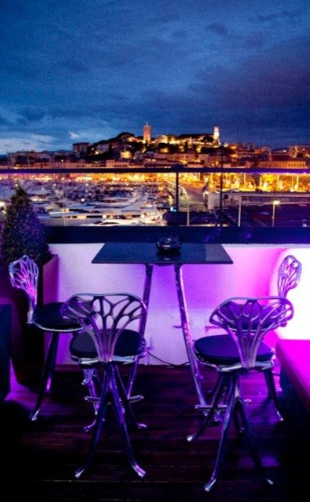 les marches night club casino barri re cannes france contemporary other metro by glow deco. Black Bedroom Furniture Sets. Home Design Ideas