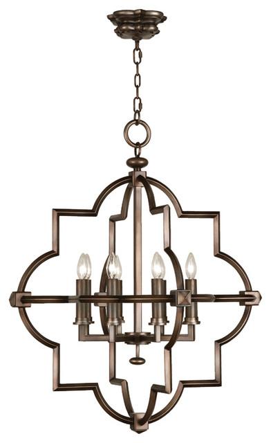 Liaison Bronze Pendant, 860040ST transitional-pendant-lighting
