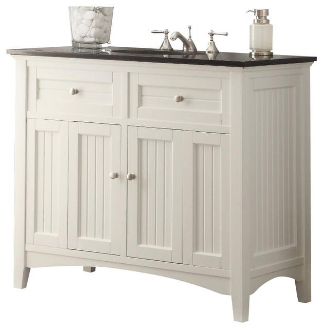 cottage style thomasville bathroom sink vanity 42 traditional