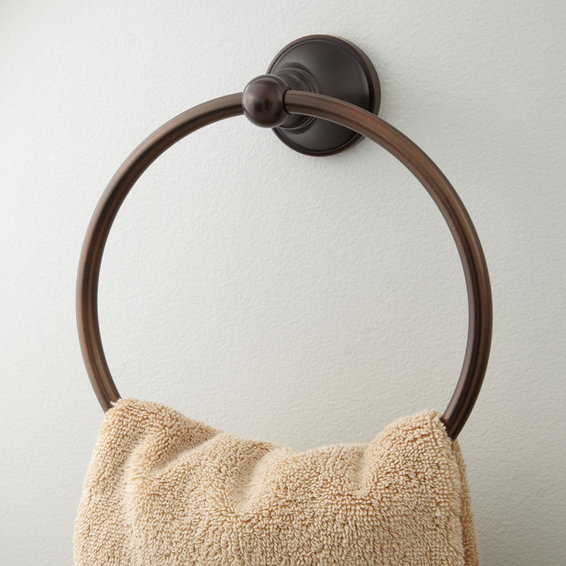 Seattle Towel Ring contemporary-towel-rings
