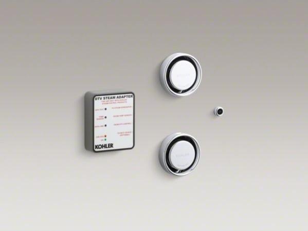 KOHLER Dual steam adapter kit contemporary-bathroom-accessories