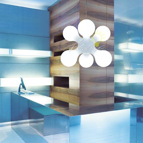 Atomium Suspension Light modern-pendant-lighting
