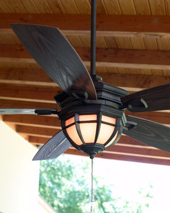"""Belvedere"" Patio Ceiling Fan Traditional Ceiling Fans"