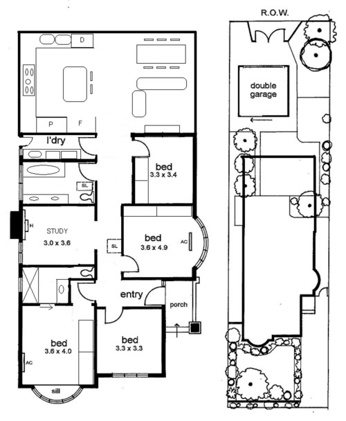 advice on floor plan design for cal bunga renovation extension