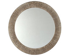 Bergmann Mirror, Antique Silver modern mirrors