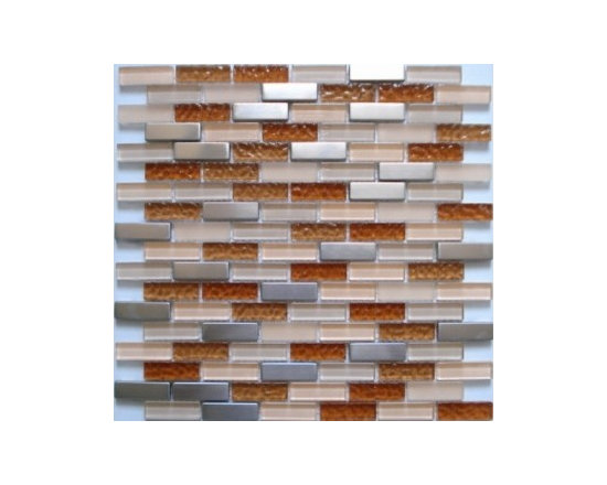 Lada Glass and Stainless steel mosaic