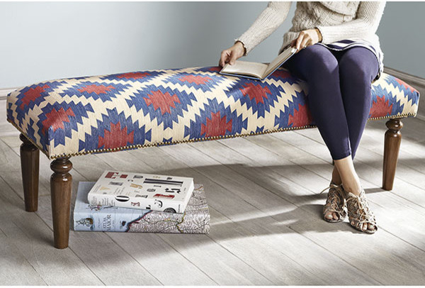 Kilim Bench, Anatole contemporary benches
