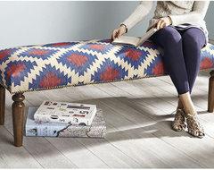 Kilim Bench, Anatole contemporary-benches