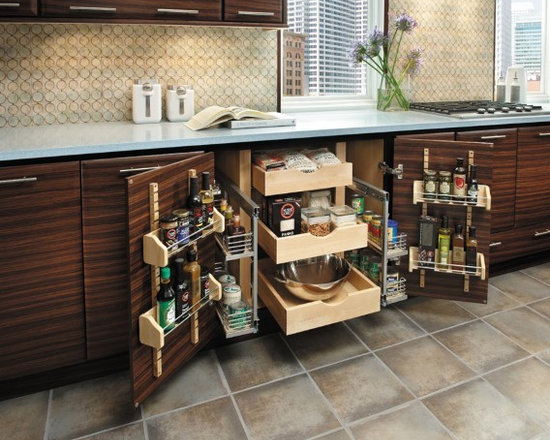 Getting Organized with Fieldstone Cabinetry - Big Storage for small spaces...Pantry Cabinet
