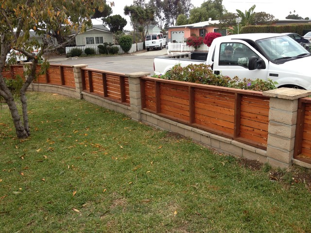 Horizontal fence panels for 4 foot fence ideas