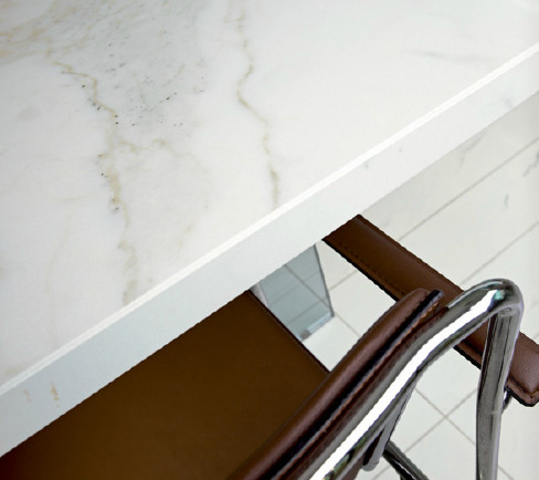 Calacatta porcelain slabs and tiles from royal stone - Ceramic tile bathroom countertops ...