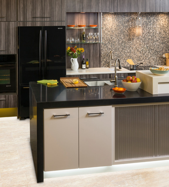Hafele Kitchen Ideas - Contemporary - Kitchen - other metro - by Hafele America Co.