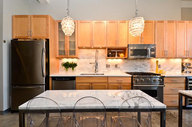 Loft #510 contemporary-kitchen